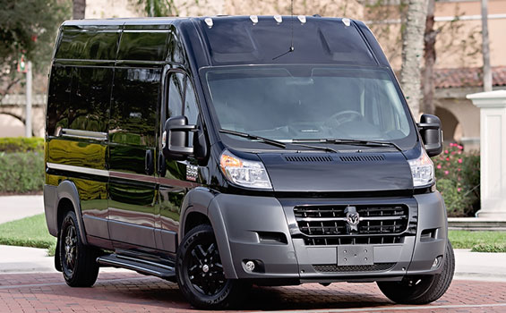promaster passenger executive shuttle