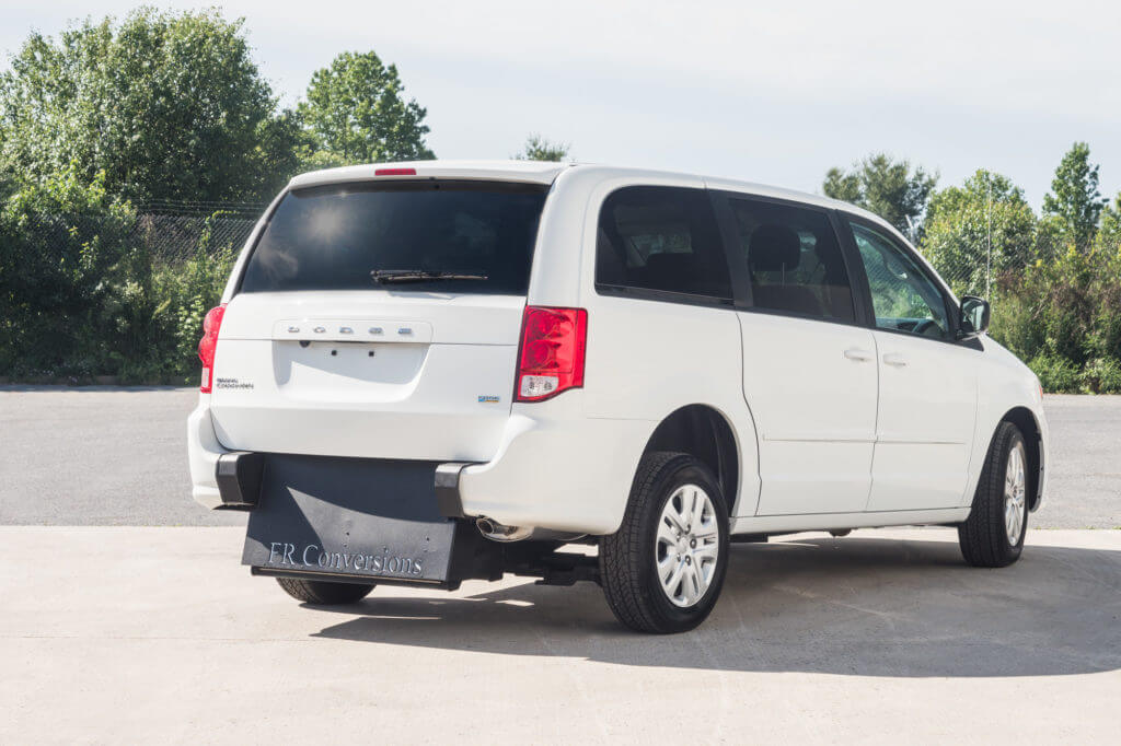Dodge Caravan Rear entry wheelchair accessible mini van