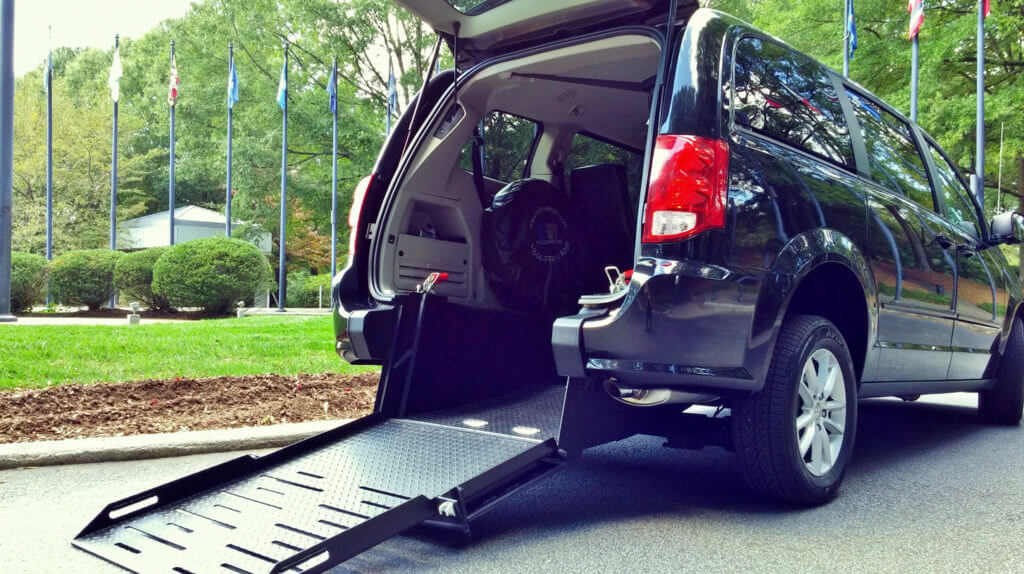 conversion van wheelchair ramp
