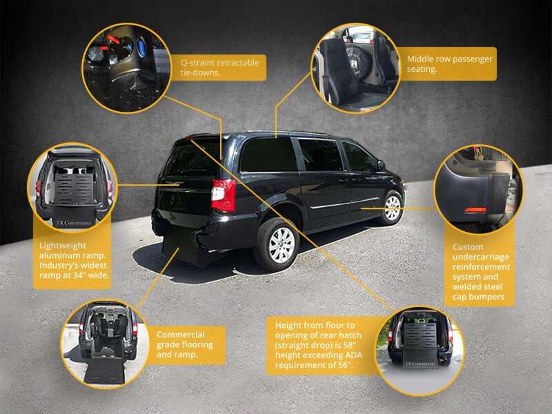 minivan conversion features