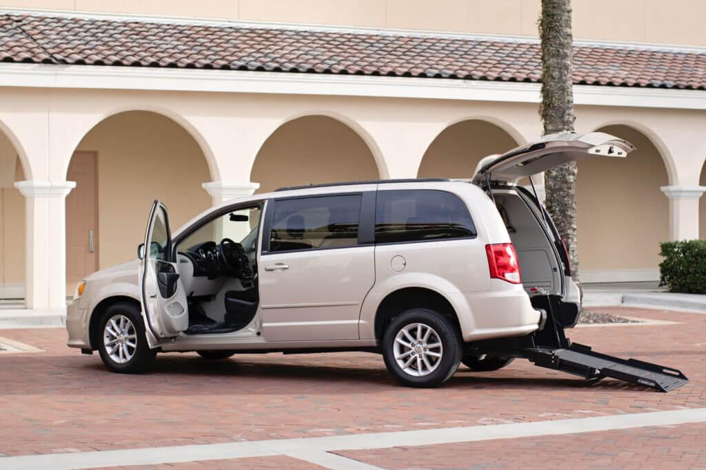 rear entry conversion wheelchair van
