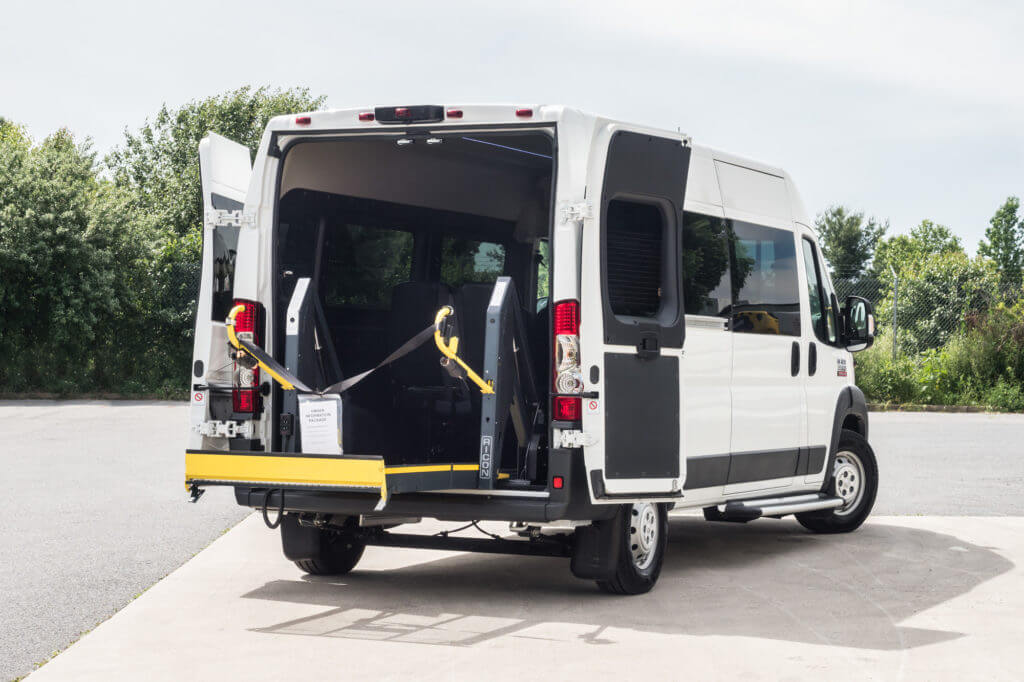 ProMaster Multi-Passenger Conversion Upfit Rear Entry Ramp