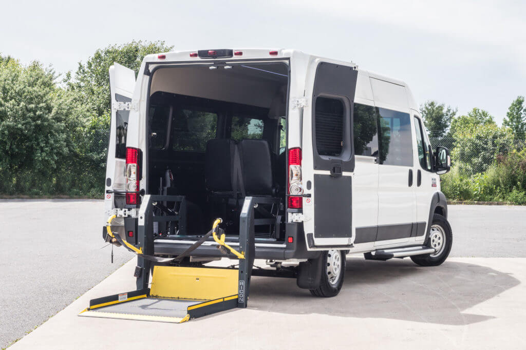 ProMaster Multi-Passenger Conversion Upfit Rear Entry Lift