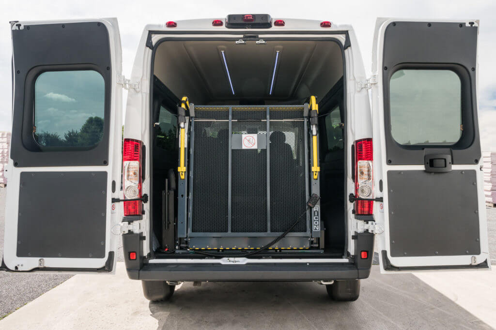 Promaster Multi Penger Conversion Upfit Rear Entry Lift