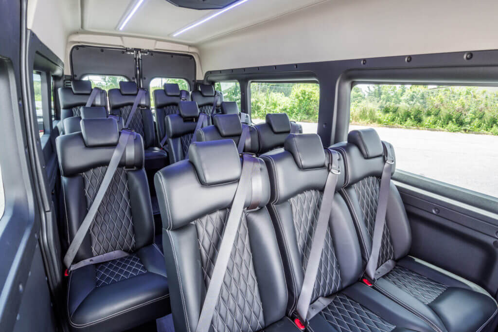 ProMaster Executive Shuttle Interior Seating