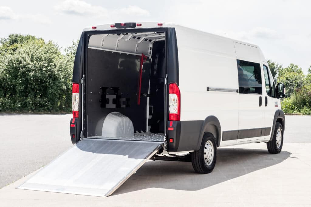 best cargo vans for your small business fleet fr conversions. Black Bedroom Furniture Sets. Home Design Ideas